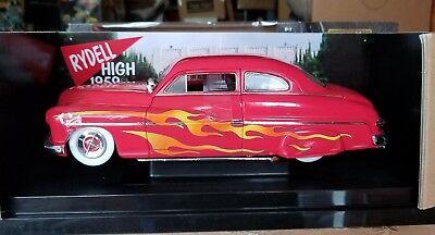 1/18 Ertl American Muscle 1949 Mercury Custom From the Movie Grease Red Nib
