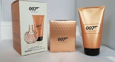 James Bond 007 para mujer II EAU DE PARFUM 50ml + LOCIÓN CORPORAL 150 ML SET
