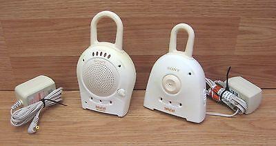 Genuine Sony (NTM-910) Baby Call Parent & Baby Unit Monitor w/ Power Supplies segunda mano  Embacar hacia Argentina