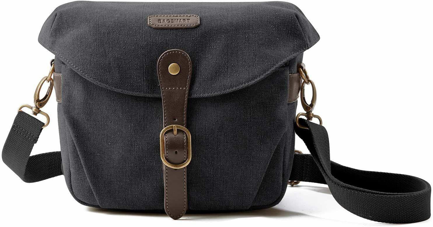BAGSMART Kameratasche Spiegelreflex Foto Schultertasche für SLR Cams Bag Sleeve