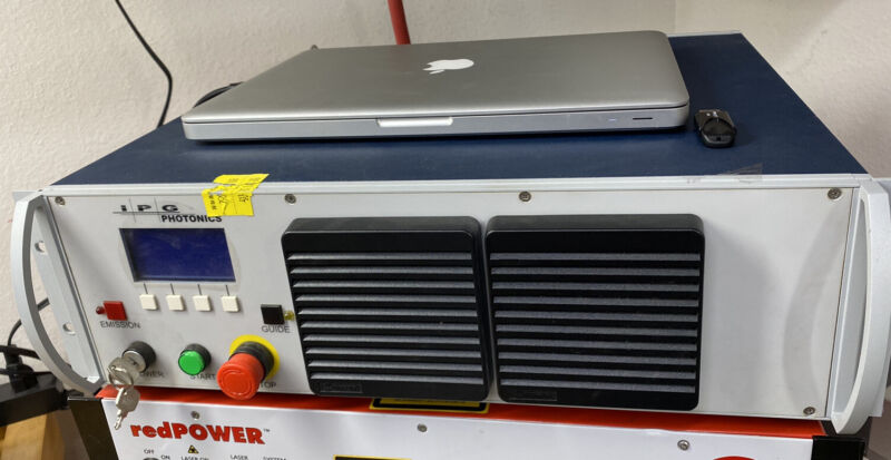 IPG Photonics Short Pulse Ytterbium Fiber Laser, 18w, YLP-R-0.3-A1-60-18