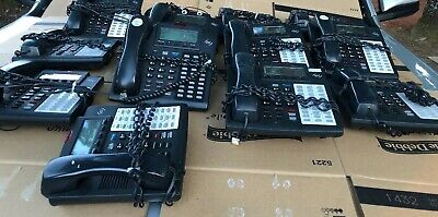 Lot Of 13 Esi 48 Key Dfp Phone With Handset Handset Cord Works Well