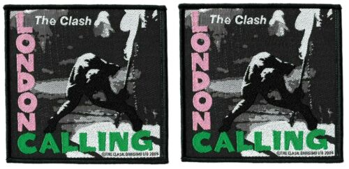 The Clash - London Calling Patch - LP Vinyl Record Album Cover [Lot of 2] Logo