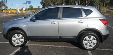 2008 Nissan Dualis Wagon, Silver Low Km, Reduced to Sell Ryde Area Preview