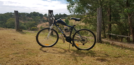 Bike, Motorized, about 12 hours ride time