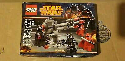 LEGO 75034 STAR WARS DEATH STAR TROOPERS BATTLE PACK Royal Guard Bad Box SEALED