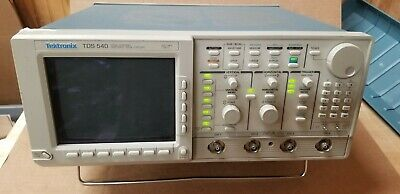 Tektronix Tds540 4-channel 500mhz Oscilloscope Powers Up No Display
