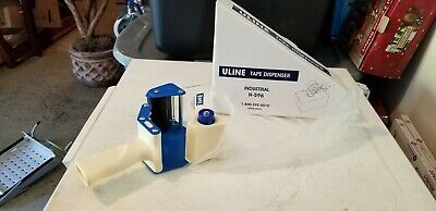 Nib Uline Industrial H-596 Tape Dispenser - Uses 3 Wide Tape Brand New