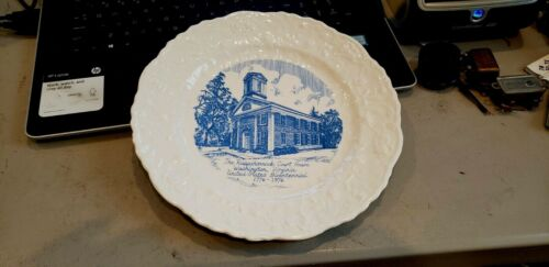 Rappahannock County Court House, Washington, Virginia Commemorative Plate