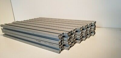 8020 T-slot Aluminum Extrusion 1515-ls 1.5 X 1.5 16.75 L Lot Of 14