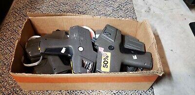 Lot Of 7 Monarch Marking Paxar 1110 Price Labeler Gun Avery Dennison