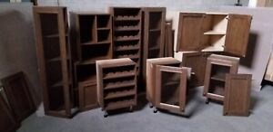 Cabinets for wet bar