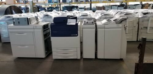Xerox Versant 80 Digital Press Production Printer Copier Scanner Fiery 435K Tota