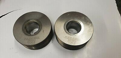 Tesker 200 38-16 Thread Rolling Machine Die Set 1.5 Spindle. 21104-b
