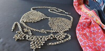 Vintage Turkish Belly Dancer Tops …beautiful and interesting set