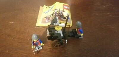 Vintage LEGO 6012 Seige Cart, complete with instructions (no box)