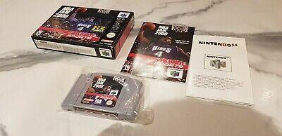 RARE - NBA JAM 2000 - English PAL Box & Cart + Booklet Italian Nintendo 64 N64