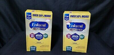 Lot of 2 Enfamil NeuroPro Infant Formula - Powder Refill Box, 31.4 oz