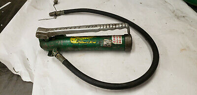 Greenlee 767a Hydraulic Hand Pump Knockout Punch Part. No Leaks