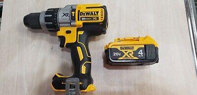Dewalt 20v Max Xr Dcd996 Brushless 12 Hammer Drill Dcb204. 4ah Battery