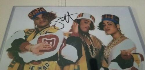 Salt-N-Pepa Autographed Signed 8 x 10 Photo W/ Holo COA