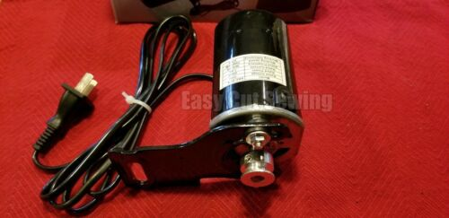 Universal AC/DC Electric Sewing Machine Motor 250 Watts 1.5 AMP Singer, Brother