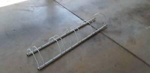 5 space floor standing Bike rack