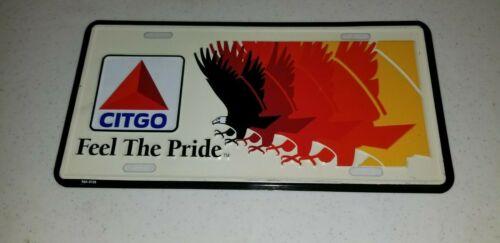CITGO advertising License Plate Feel the Pride