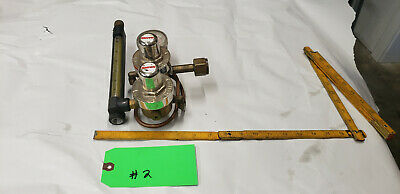 Smith 35-30-320 Gas Flow Meter Regulator Valve He Scfh-arg Co2. Lot2