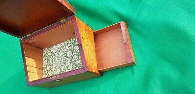 Antique box with Secret Drawer, Jewellery, Trinket, Stationery