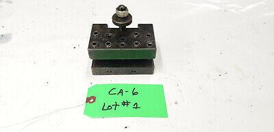 Aloris Ca-6 Ca6 Quick Change Multiple Tool Holder. Lot1 Shelf Q2 Bin 1