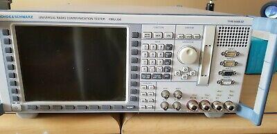 Rhode Schwartz Cmu200 Universal Radio Communications Tester