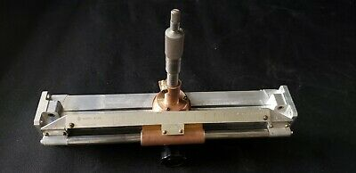 Hp 809b Waveguide Slotted Line Universal Probe Carriage Wr75