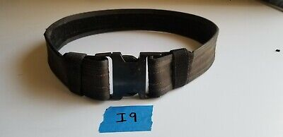 Galco Nylon Duty Belt Black Medium With Nexus Buckle And Keepers 2.25 Wide