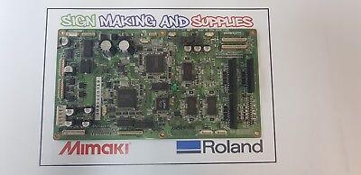 Genuine Roland Soljet Pro Iii Xc-540 Printer Assy Servo Board 6700311000