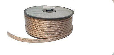 50m Roll-High Calidad Plano Coche Hifi Audio Altavoz Cable 2X 2.50MM2 Ofc
