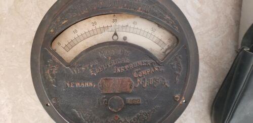 Weston Voltmeter