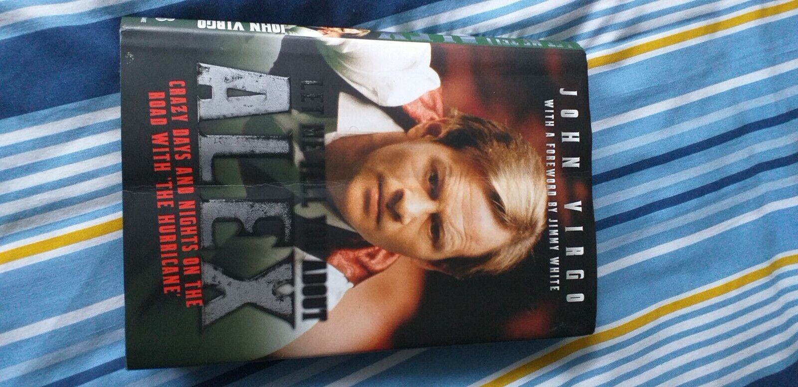 Alex Higgins book
