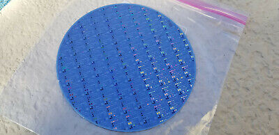 """silicon wafer 8/""""Microchip Pattern waffer on silicon"""