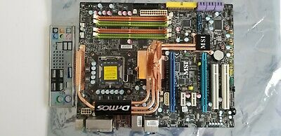 MSI P45 Platinum, LGA775 Socket, Intel (MS7512010HC) Motherboard MS-7215 Ver:1.1