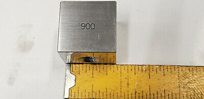 .900 Ellstrom Square Steel Gage Gauge Block.