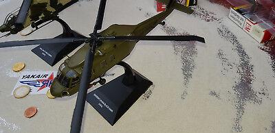 1x Sikorsky ch-54a skycrane helicóptero otan Helicoptere estados unidos 1:72 DIECAST
