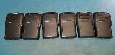 6 Oem Motorola Ex500 Case Only Used Very Good Condition