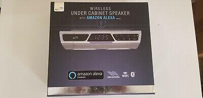 iLive Platinum Wireless Under Cabinet Speaker with Amazon Alexa - IKBFV378S