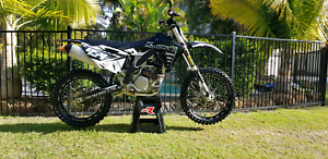 2015 KAWASAKI KX 250 F LOW HRS IMMACULATE LOTS OF EXTRAS