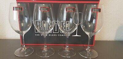 Riedel Kristall Weinglas Weißwein Rotwein 0,1ltr 4er Set