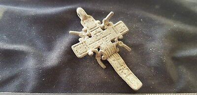 Very rare & unusual Post Medieval crucifix pendant please read description. L89q