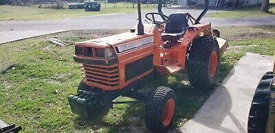 Kubota L2250 2wd Farm Tarctor And 48 Brush Mower