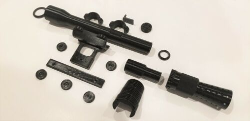 Han Solo DL44 1:1 3D Printed Parts Kit & Build Guide! Airsoft & Denix Available