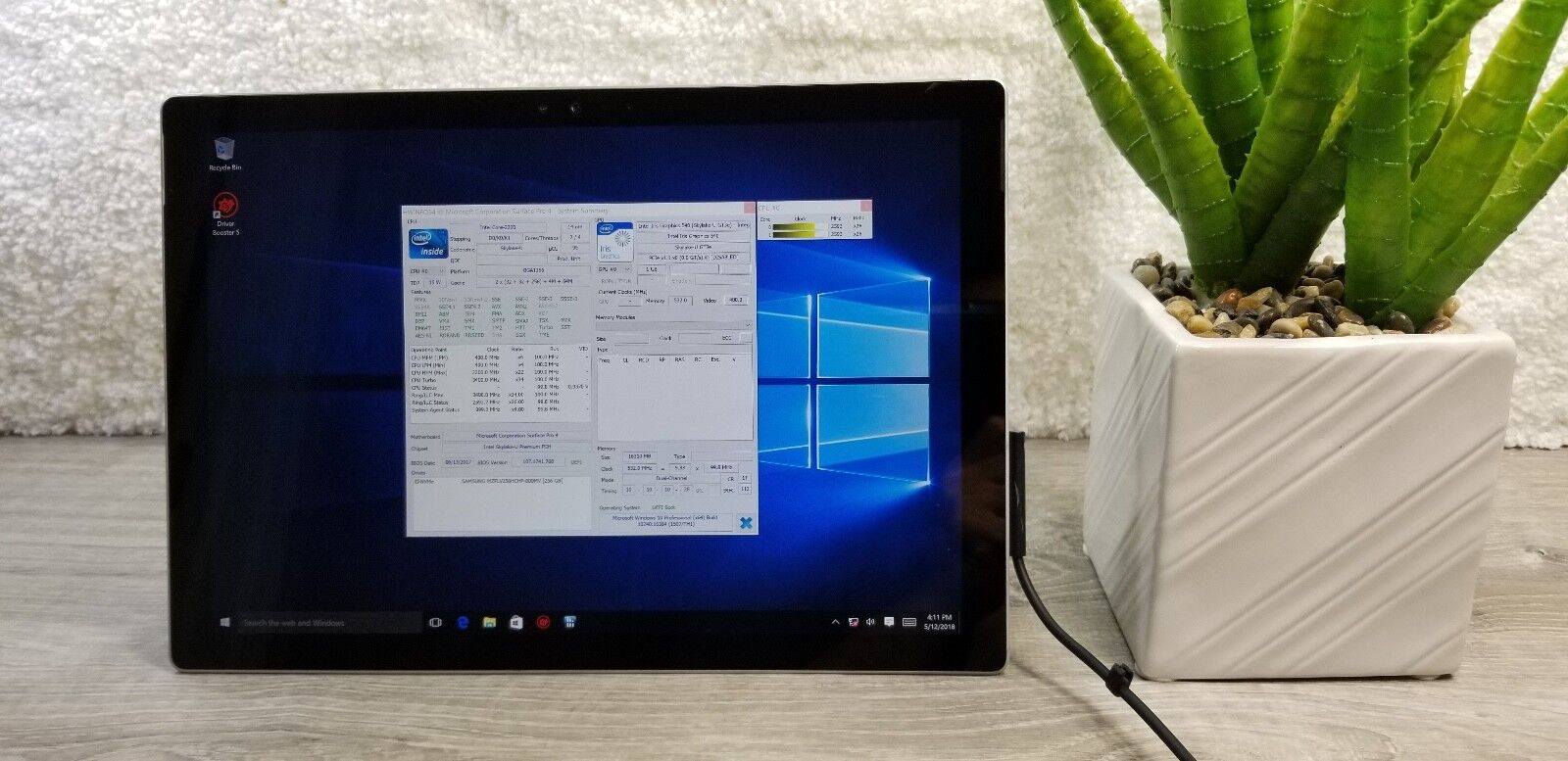 Microsoft Surface Pro 4 Intel 256GB 16GB. Fast, Fully Insured and Free Ship!!